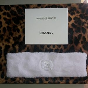 CHANEL Accessories - Pale Pink, White, Black Chanel TerryCloth Headband