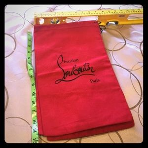 Christian Louboutin Accessories - Christian Louboutin dust bags.