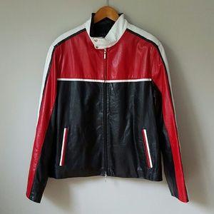Marko Bossi Other - 🔵{Marko Bossi} Men's Genuine Leather Zip Up Coat