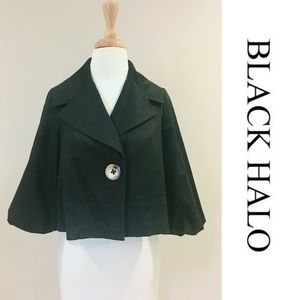 Black Halo Jackets & Blazers - Black Halo Bolero Jacket -XS
