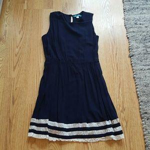 Piperlime Dresses & Skirts - Pim + Larkin Navy Blue Dress