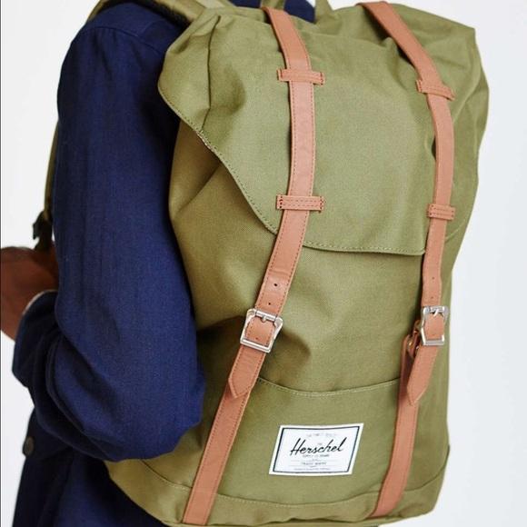 e149e592df8 Herschel Supply Company Handbags - Green Herschel Retreat Backpack
