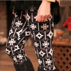 Soft Brushed Knit Santa Fe Leggings