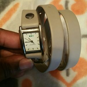 LA MER Collections wrap watch