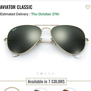 Oversized Ray-Ban Aviators