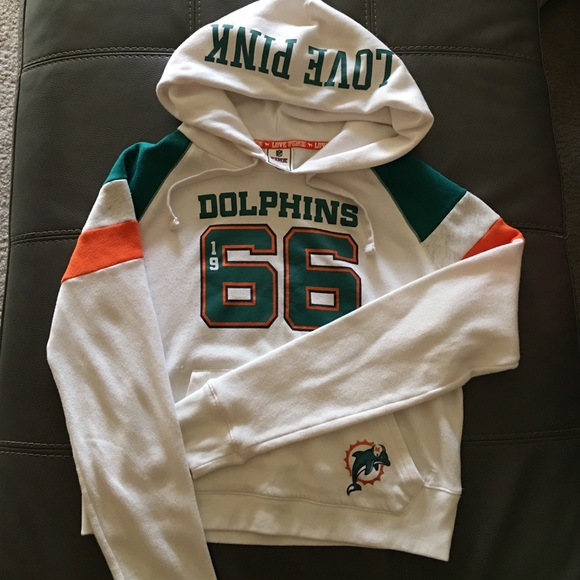 6b8800e4 VS PINK MIAMI DOLPHINS PULLOVER/HOODIE