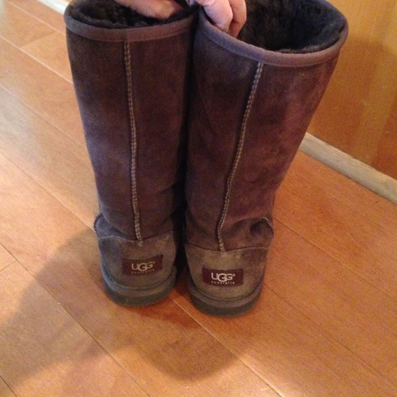 ugg boots brown tall - photo #43
