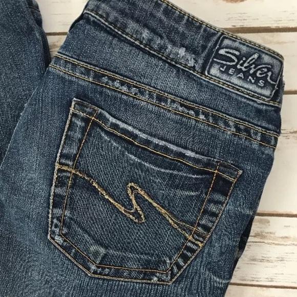 Silver Jeans Buckle Ye Jean