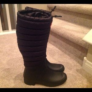 Hunter Boots Shoes - NEW Original Quilted Hunter Rain Boots