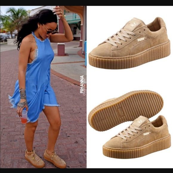 outlet store fine quality wide selection of designs FENTY Puma Rihanna Suede Creepers NWT
