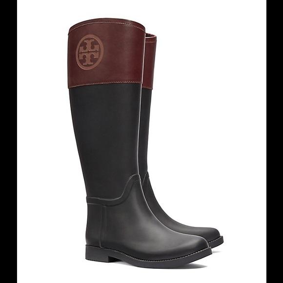 0127f3812573 Tory Burch Diana Rain Boots. M 580e8999291a35b750016760