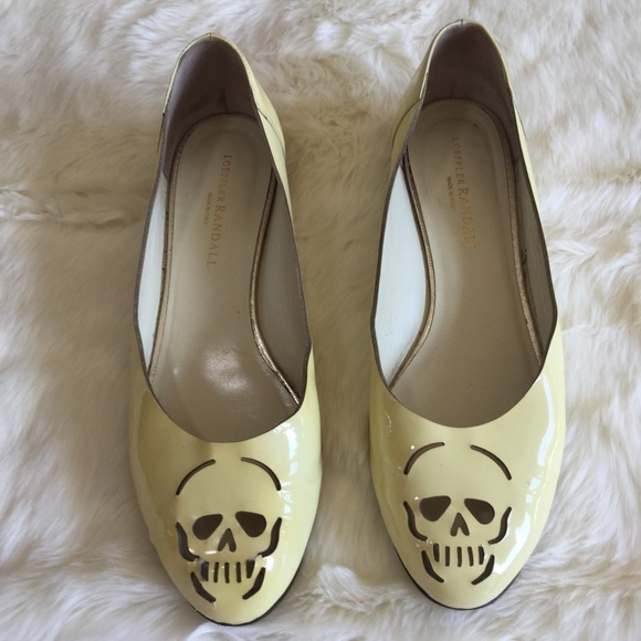Loeffler Randall Patent Leather Skull Flats official online cheap price factory outlet clearance 2015 new free shipping buy outlet cheap prices K3QZE