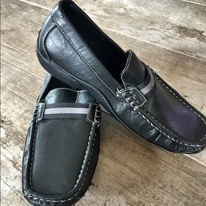 Stacy Adams Other - Stacy Adams Black Leather Loafers