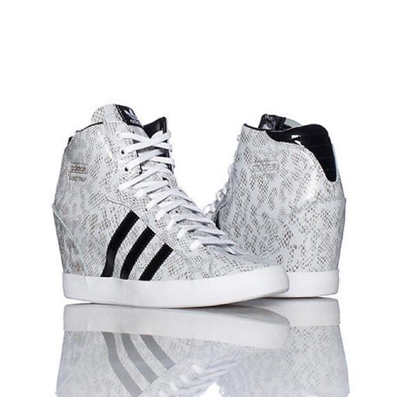 Adidas Shoes -  adidas  •BASKET PROFI HEEL WEDGE SNEAKER• 9fb0bf3cf