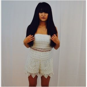 Missguided Lace Romper
