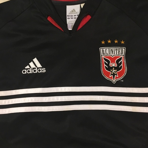 newest 34735 36538 DC United Jersey
