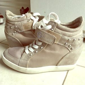 Guess Shoes - Guess wedged sneakers