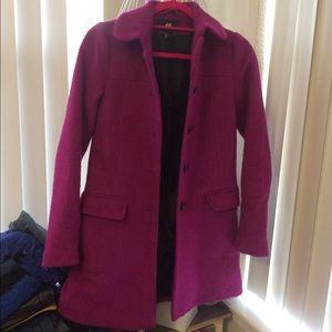 H&M Jackets & Blazers - Fuschia coat