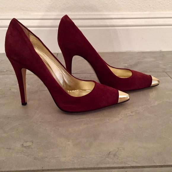 a806dbe1a06 **NEW** Sesto Meucci suede heels NWT
