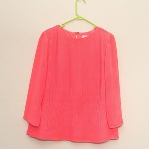 Ted Baker London Tops - NWOT Ted Baker pleated blouse top SZ 2