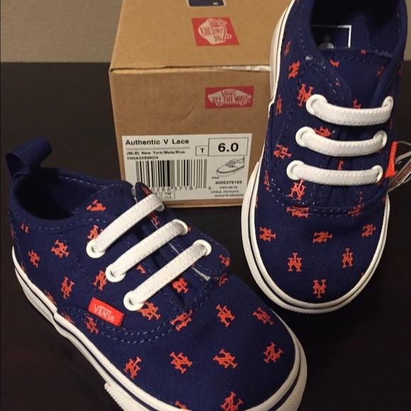 b1a4753ef5f273 Vans Toddler size 6 sneaker Mets