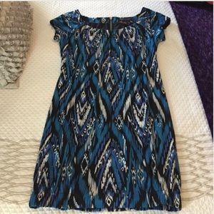 Robbie Bee Dresses & Skirts - Aztec print shift dress
