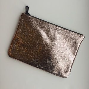Marc Jacobs x Target rose gold clutch