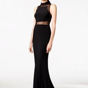 Betsy & Adam designer Homecoming Prom Dress Black
