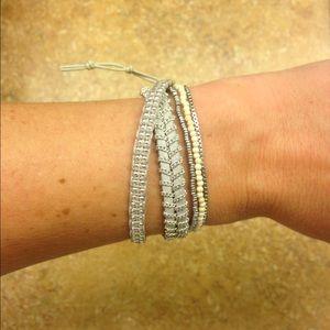 Stella & Dot Lola wrap bracelet