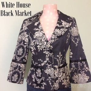 White House Black Market Jackets & Blazers - ✨SALE✨White House Black Market Blazer w/Satin Bows