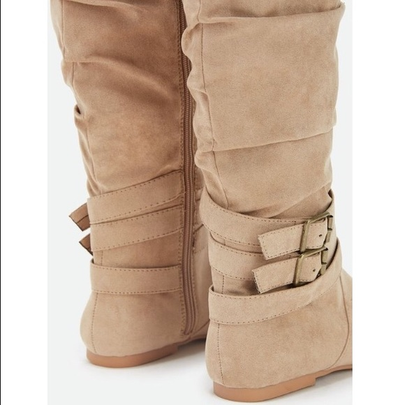 65% off JustFab Shoes - 🔸 Knee Length Fall/Winter Boots