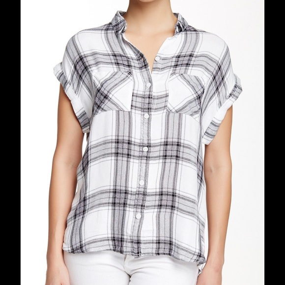 fae63b3a17 Beach Lunch Lounge Tops | Plaid Short Sleeve Shirt | Poshmark