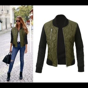 Jackets & Blazers - NWT Bomber Style Jacket