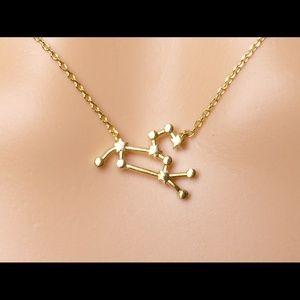 Jewelry - Leo constellation necklace,zodiac necklace