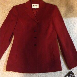 Kasper Other - Kasper Dark Red Suit NEW