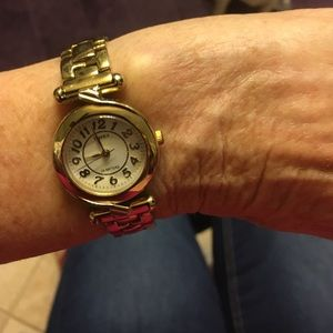 Timex gold plated women's watch.