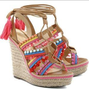 Schultz  Shoes - Schultz festive sandal wedge