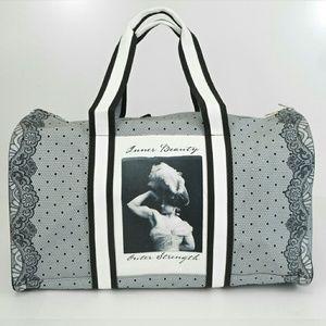 Handbags - Lace Print Duffle Bag