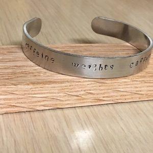 Brand new bracelet. Caffeine and weights