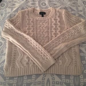 Top shop cropped sweater