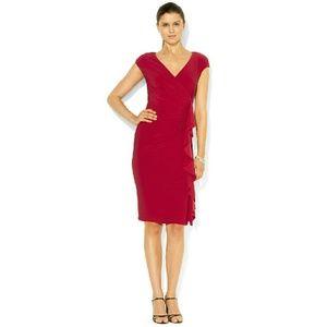 American Living  Dresses & Skirts - 🎉Host Pick🎉  American Living Ruffle Sheath Dress