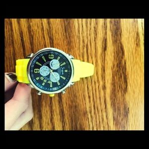 Other - Brand NEW yellow watch!