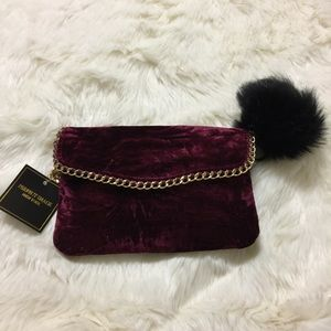 Perfect Image New York Bags - 🎈SALE Elegant Wristlet Gold Chain & PomPom -BG-1