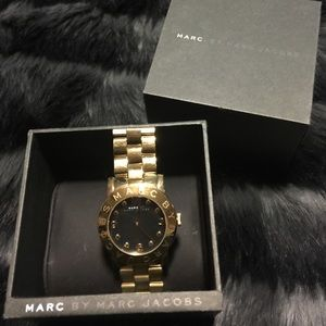 Gold Marc by Marc Jacob watch