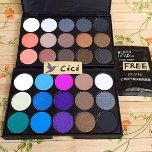 Other - 2xNew 15 color Makeup EyeShadow Palette