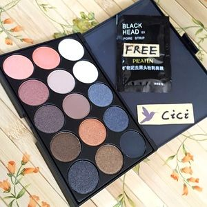 Other - New 15 color Makeup EyeShadow Palette