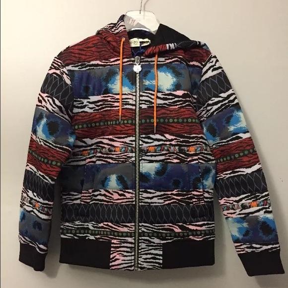 436b9fb96 Kenzo Jackets & Coats | X Hm Scuba Zip Up Hoodie | Poshmark
