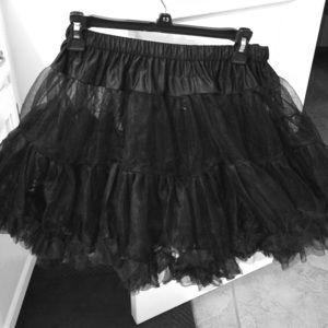 Leg Avenue Dresses & Skirts - Graceful Black Tutu (OS) Super adorbs 😍