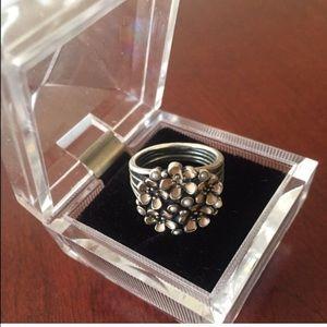 Pandora Jewelry - Pandora 925 SPRING Cherry Blossom Bouquet Ring 🎉