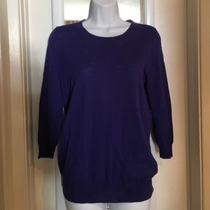 J.crew purple sweater size S